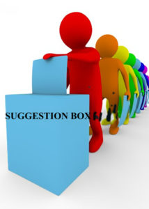 Figure 2 shows a traditional suggestion box used by companies to collect views